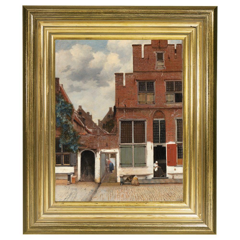 Rijksmuseum Rijksmuseum, Johannes Vermeer - The Little Street Framed Print, 34 x 29cm