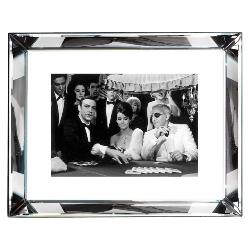 Brookpace Brookpace, The Manhattan Collection - Thunderball Casino Framed Print, 67 x 87cm
