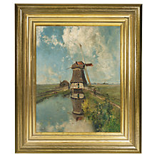 Buy Rijksmuseum, Paul J. C. Gabriël - In the Month of July Framed Print, 34 x 29cm Online at johnlewis.com