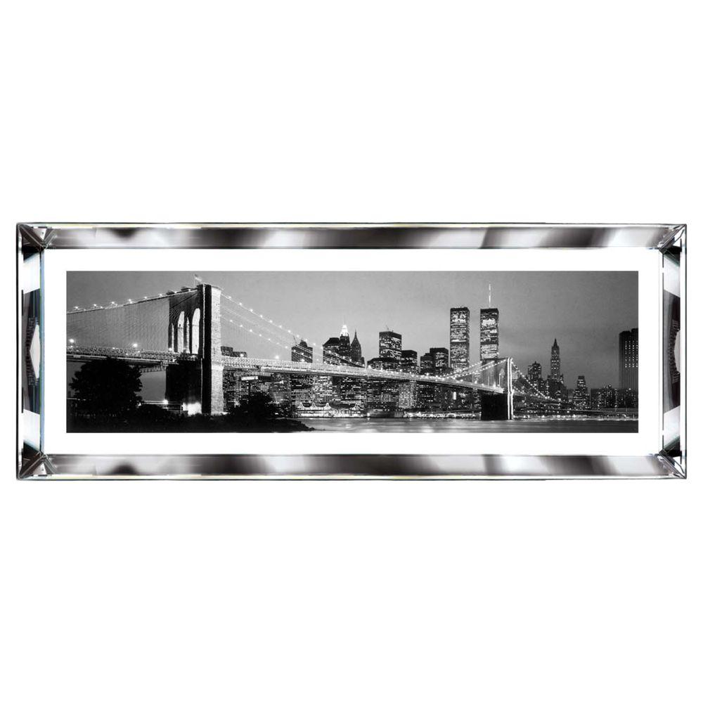 Brookpace Brookpace, The Manhattan Collection - New York Skyline Framed Print, 39 x 102cm