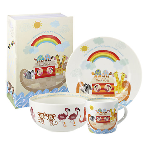 Buy Little Rhymes Noah's Ark Dinner Set Online at johnlewis.com