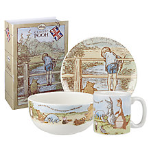 Buy Winnie the Pooh Heritage Dinner Set Online at johnlewis.com