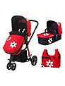 Cosatto Giggle 3 in 1 Combi Pushchair, Bizzy Betty