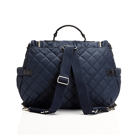 Buy Storksak Poppy Changing Bag, Navy Online at johnlewis.com