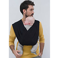 Buy Babylonia Tri-cotti Baby Carrier, Black Online at johnlewis.com