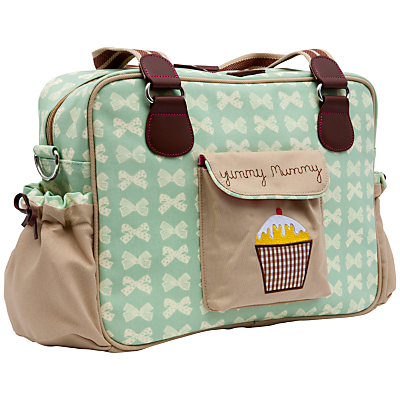 Pink Lining Yummy Mummy Changing Bag Peppermint Bows