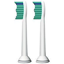 Buy Philips Sonicare HX6012/26 Pro Results Brush Heads, Pack of 2 Online at johnlewis.com