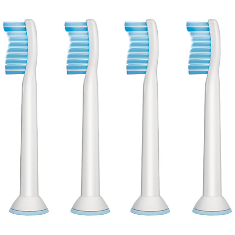 Buy Philips Sonicare HX6054/26 Pro Results Sensitive Brush Heads, Pack of 4 Online at johnlewis.com