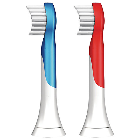 Buy Philips Sonicare HX6032/26 for Kids Compact Brush Heads, Pack of 2 Online at johnlewis.com