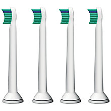 Buy Philips Sonicare HX6024/26 Pro Results Compact Brush Heads, Pack of 4 Online at johnlewis.com