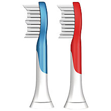 Buy Philips Sonicare HX6042/26 for Kids Tall Brush Heads, Pack of 2 Online at johnlewis.com