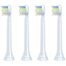 Buy Philips Sonicare HX6074/26 Diamond Clean Mini Brush Heads, Pack of 4 Online at johnlewis.com
