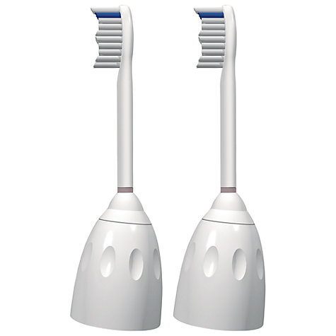 Buy Philips Sonicare HX7022/26 e-Series Brush Heads, Pack of  2 Online at johnlewis.com