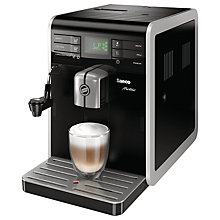 Buy Saeco HD8768/08 Moltio Bean-to-Cup Coffee Machine, Black Online at johnlewis.com