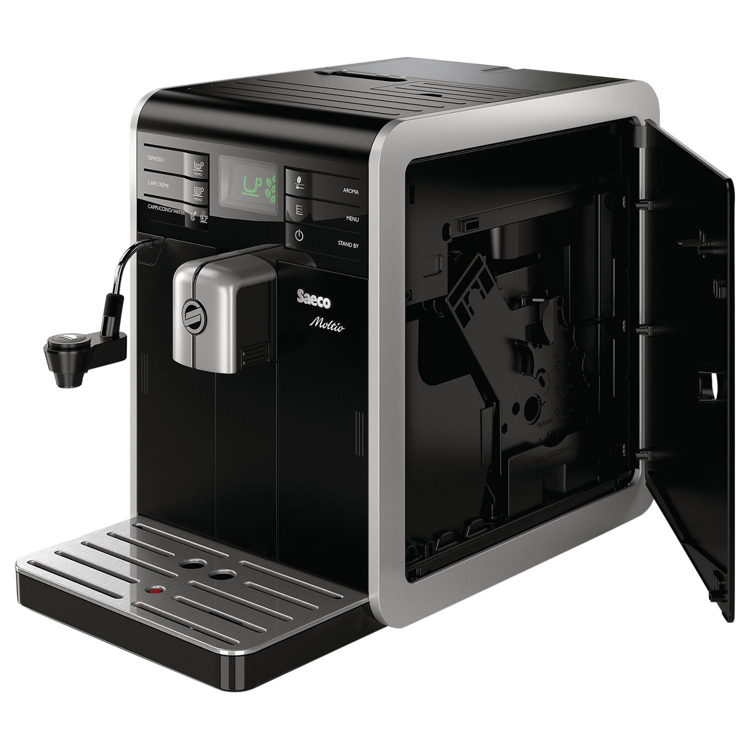 Buy Philips Saeco HD8768/08 Moltio Bean-to-Cup Coffee Machine, Black John Lewis