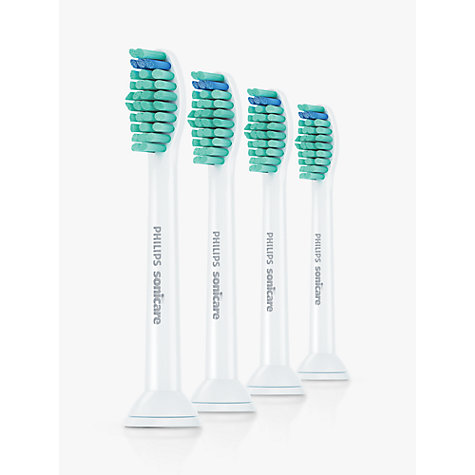 Buy Philips Sonicare HX6014/26 Pro Results Brush Heads, Pack of 4 Online at johnlewis.com