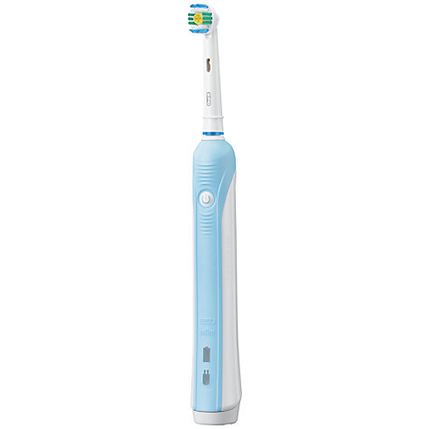 Buy Braun Oral-B Professional Care 600 White & Clean Electric Toothbrush Online at johnlewis.com