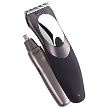 Buy Wahl 9639-800 Clip'n'Rinse Deluxe Washable Clippers with Trimmer Online at johnlewis.com