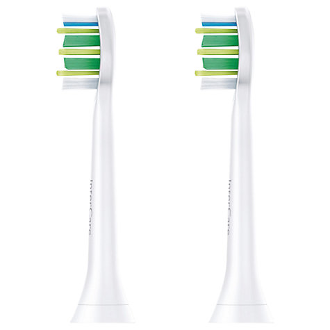 Buy Philips Sonicare HX9002/26 InterCare Brush Heads, Pack of 2 Online at johnlewis.com