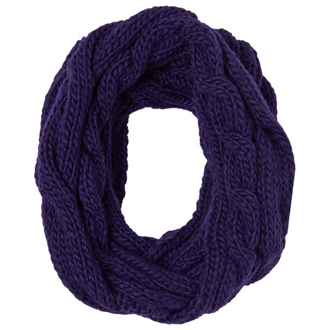 Buy Phase Eight Double Twist Snood, Cobalt Online at johnlewis.com