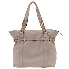 Buy Reiss Ines Large Shoulder Handbag, Neutral Online at johnlewis.com