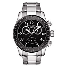 Buy Tissot Men's V8 Stainless Steel Chronograph Watch Online at johnlewis.com