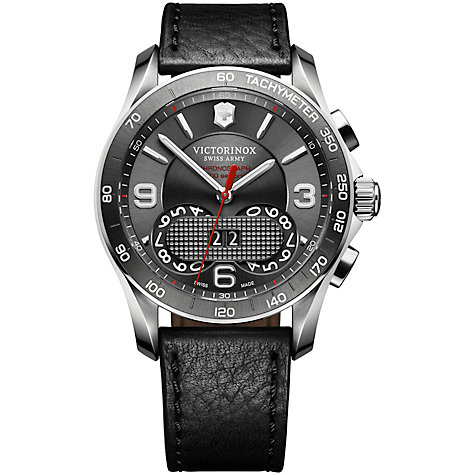 Buy Victorinox Swiss Army 1/100th Perpetual Chronograph Watch Online at johnlewis.com