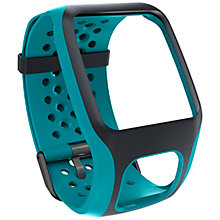 Buy TomTom GPS Watch Regular Comfort Strap, Turquoise Online at johnlewis.com