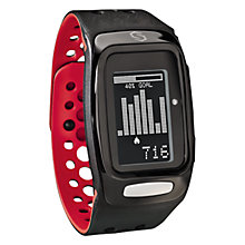 Buy Sync Burn Fitness Band, Black/Red Online at johnlewis.com
