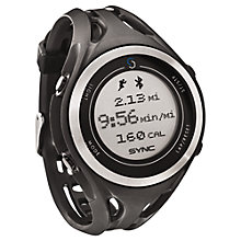 Buy Sync GPS Sports Watch, Grey Online at johnlewis.com
