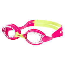 Buy Speedo Skoogle Flexifit Junior Swimming Goggles, Pink/Green Online at johnlewis.com