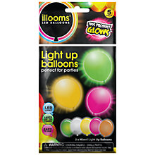 Buy Illoom LED Balloon Mix, Pack of 5 Online at johnlewis.com