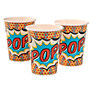 Ginger Ray Pop Art Superhero Disposable Paper Cups, Pack of 8
