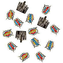 Buy Pop Art Superhero Confetti Pack Online at johnlewis.com