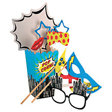 Buy Pop Art Superhero Party Props Kit Online at johnlewis.com