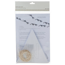 Buy John Lewis Colour Your Own Christmas Bunting Online at johnlewis.com