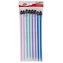 Buy Susan Bates Crystalites Long Knitting Needles, Pack of 8, Multi Online at johnlewis.com