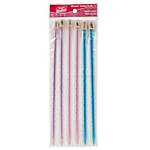 Buy Susan Bates Silvalume Small Knitting Needles, Pack of 6, Multi Online at johnlewis.com
