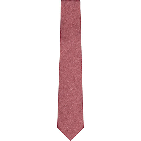 Buy Reiss Exmouth Plain Linen Tie Online at johnlewis.com