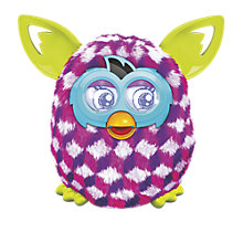 Buy Furby Boom, Purple/Pink Cubes Online at johnlewis.com