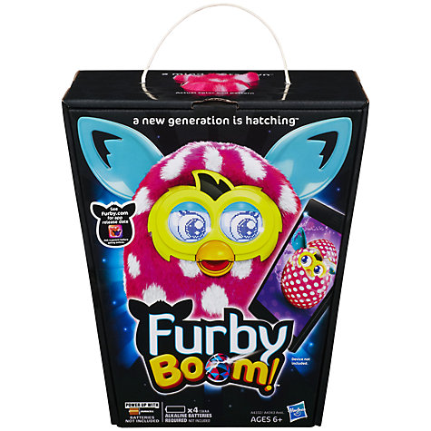 Buy Furby Boom, Pink/White Online at johnlewis.com