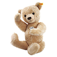 Buy Steiff Hannes Beige Bear, 42cm Online at johnlewis.com