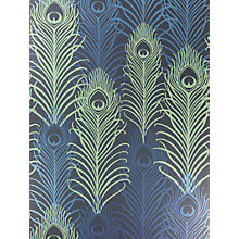 Buy Osborne & Little Peacock Wallpaper Online at johnlewis.com
