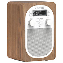 Buy Pure Evoke D2 DAB/FM Digital Radio, Oak + D1 ChargePAK Online at johnlewis.com