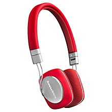 Buy B&W P3 On-Ear Headphones Online at johnlewis.com