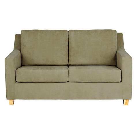 Buy John Lewis Bizet Small Sofa Bed with Open Sprung Mattress, Grace Oyster Online at johnlewis.com