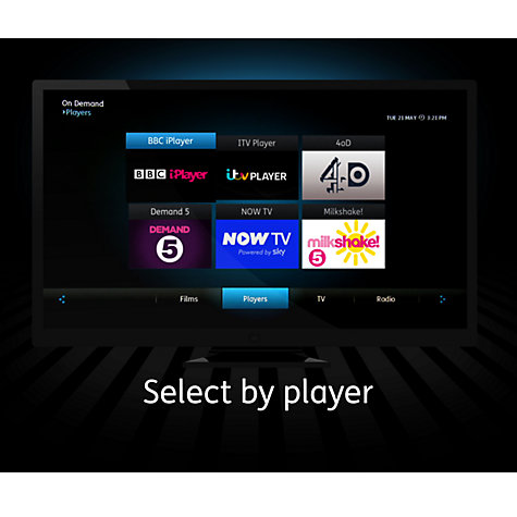 Buy BT YouView Smart 500GB Freeview+ HD Digital TV Recorder Online at johnlewis.com