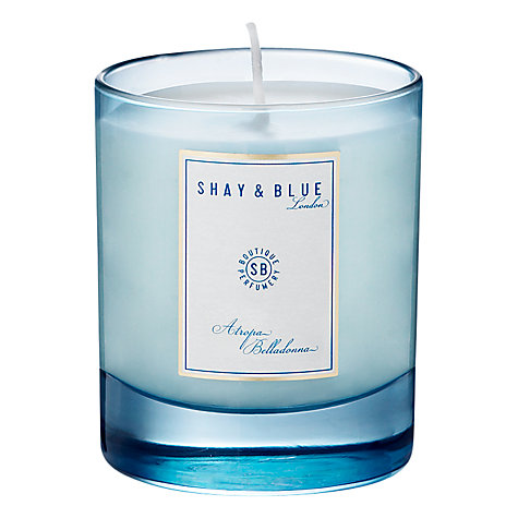 Buy Shay & Blue Atropa Belladonna Natural Scented Wax Candle, 140g Online at johnlewis.com