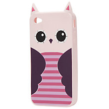 Buy John Lewis Owl Phone Case, Pink/Purple Online at johnlewis.com