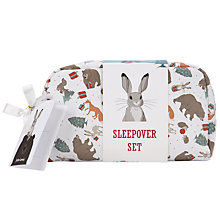Buy John Lewis The Bear & The Hare Sleepover Kit, Multi Online at johnlewis.com